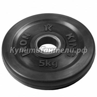 Блин обрезиненный Евро-Классик 5 кг (d51)